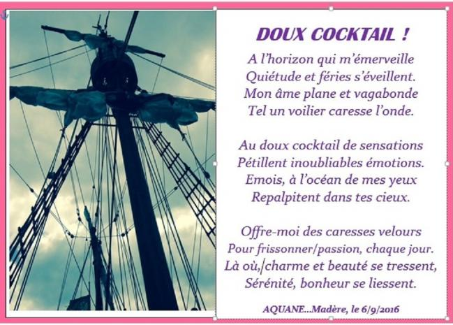Doux cocktail