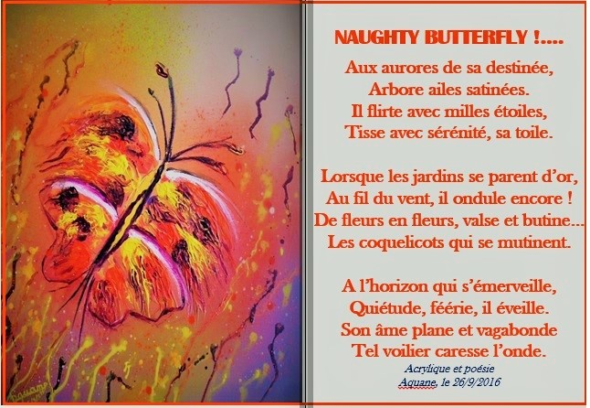 Naughty butterfly